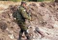 Под Донецком найдены захоронения мирных жителей