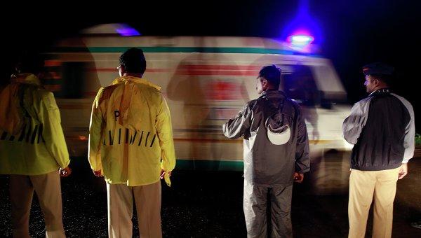 Машина скорой помощи в Индии