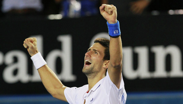 Сербский теннисист Новак Джокович, архивное фото