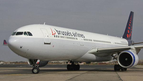 Самолет авиакомпании Brussels Airlines. Архивное фото
