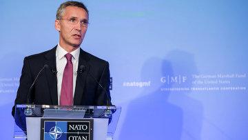 Генеральный секретарь НАТО Йенс Столтенберг, архивное фото
