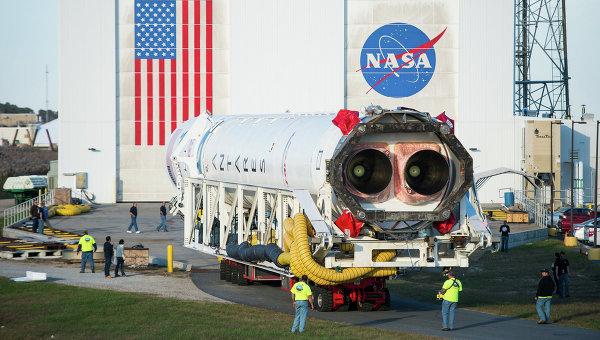 Ракета-носитель Antares. Архивное фото
