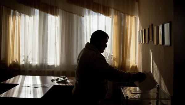 Досрочные выборы главы ЛНР и депутатов Народного Совета ЛНР. Архивное фото