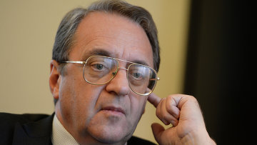 Заместитель министра иностранных дел РФ Михаил Богданов. Архивное фото