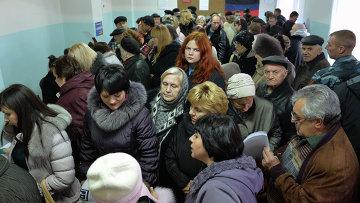 Выборы главы ДНР и депутатов Народного Совета республики. Архивное фото