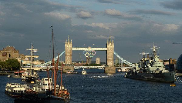 Вид на Тауэрский мост в Лондоне. Архивное фото