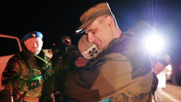 В пригороде Донецка состоялся обмен пленными. Архивное фото