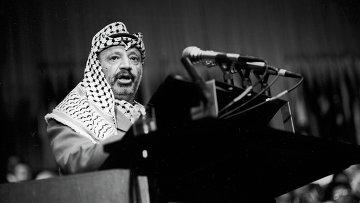 Председатель Исполнительного комитета Организации освобождения Палестины Ясир Арафат