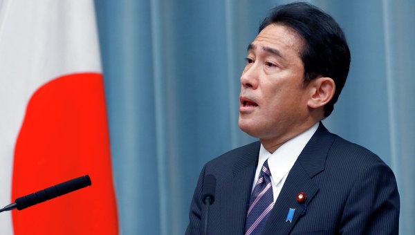 Глава МИД Японии Фумио Кисида. Архивное фото