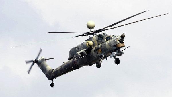 Вертолет Ми-28НЭ Ночной охотник. Архивное фото