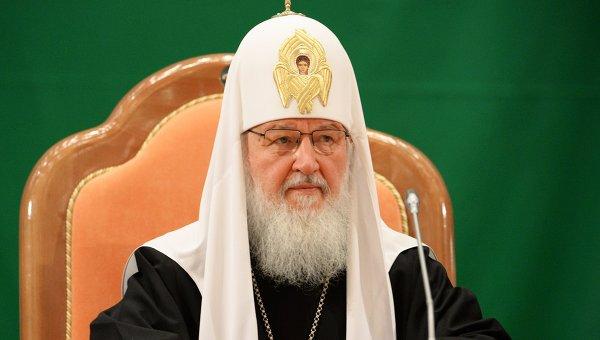 Патриарх Московский и всея Руси Кирилл на открытии XVIII Всемирного Русского Народного Собора