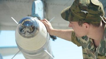 Лазерная боевая часть ракеты класса Воздух-земля. Архивное фото.