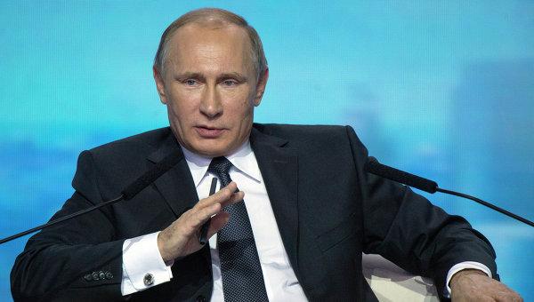 Президент России Владимир Путин . Архивное фото