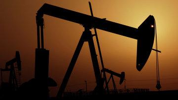Нефтяные насосы в пустыне Бахрейна