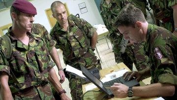 Британские военнослужащие Архивное фото.