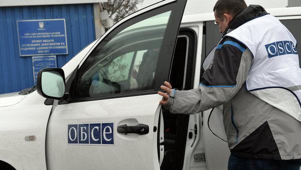 Представитель ОБСЕ, архивное фото