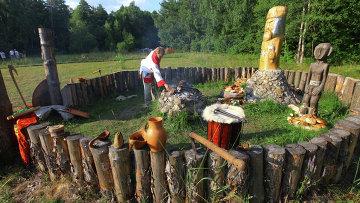 День Перуна прошел в Калуге на капище Гамаюнщина