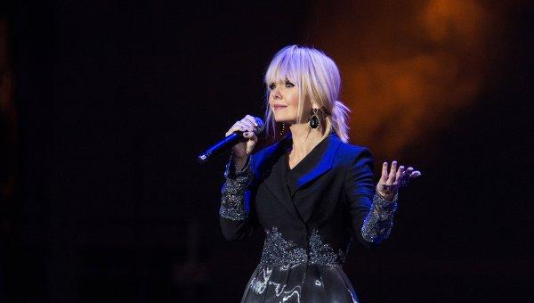 Певица Валерия. Архивное фото