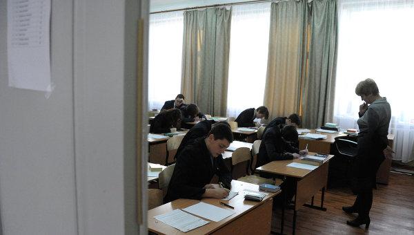 Итоговое сочинение в российских школах. Архивное фото