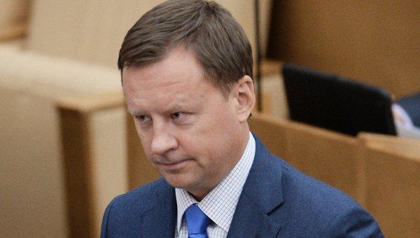 Член комитета Государственной Думы РФ по безопасности и противодействию коррупции Денис Вороненков. Архивное фото