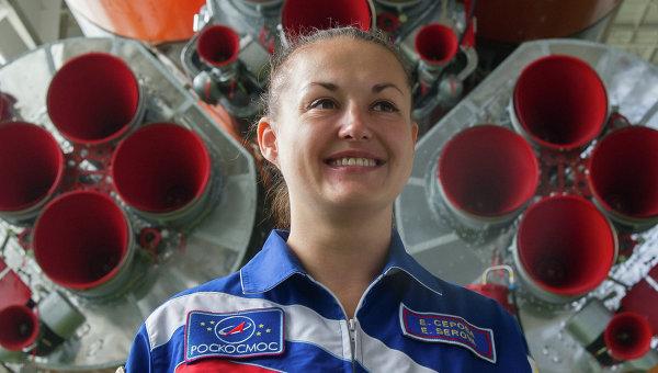 Космонавт Роскосмоса Елена Серова. Архивное фото