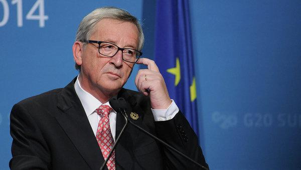 Председатель Европейской комиссии Жан-Клод Юнкер. 2014 год