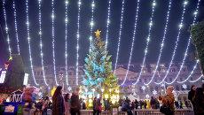 Рождественская иллюминация в Румынии