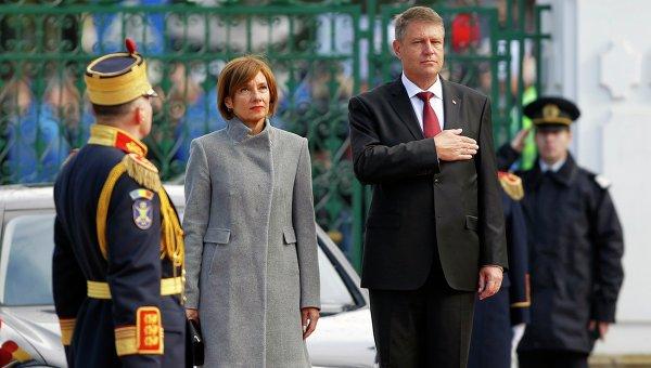 Новоизбранный президент Румынии Клаус Йоханес. Инаугурация