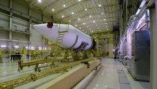Монтажно-испытательный корпус стартового комплекса ракеты Ангара.