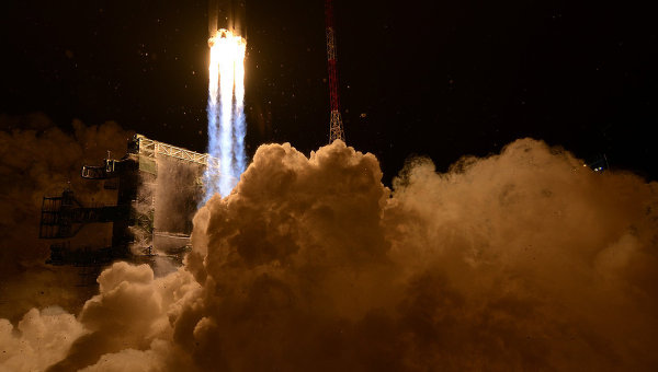 Первый пуск ракеты с космодрома Плесецк. Архивное фото