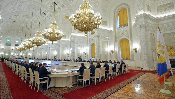 В.Путин провел совместное заседание Госсовета и Совета по культуре и искусству