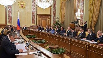 Заседание правительства. Архивное фото