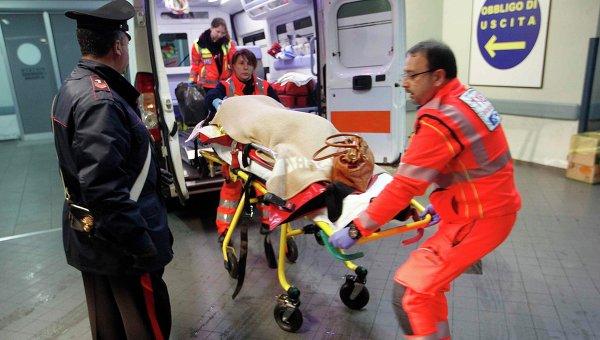 Пассажир с парома Norman Atlantic доставлен в больницу