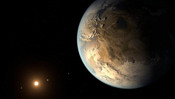 Экзопланета Кеплер-186F