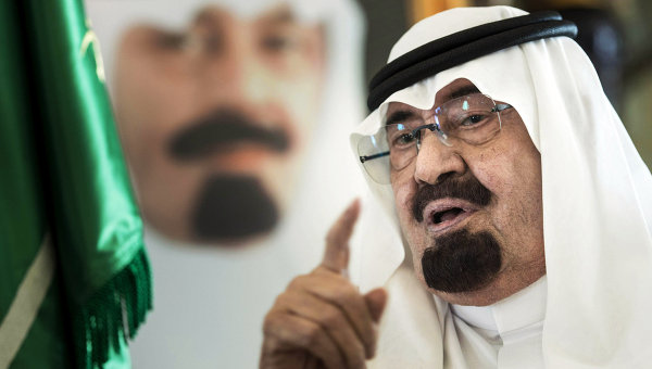 Король Саудовской Аравии Абдалла бен Абдель Азиз Аль Сауд. Архивное фото