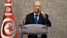 Президент Туниса Бежи Каид эс-Себси. Архивное фото
