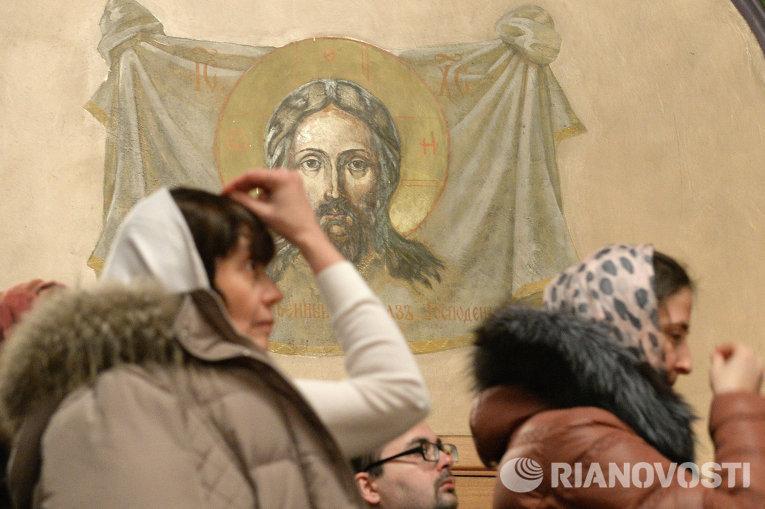 Празднование Рождества в Казани