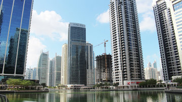 Вид на Дубай. 2015 год. Архивное фото