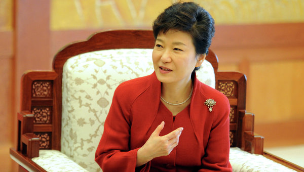 Президент Южной Кореи Пак Кын Хе, архивное фото