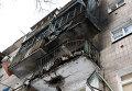 Последствия обстрелов Донецка, 13 января 2015