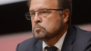 Руководитель Ракетно-космической корпорации Энергия Владимир Солнцев. Архивное фото