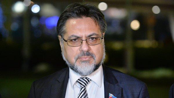 Представитель Луганской народной республики Владислав Дейнего (ЛНР). Архивное фото