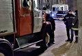 Пожарная машина в центре Харькова. Архивное фото