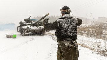 Украинские военные в Луганской области. Архивное фото