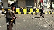Вооруженные бевики, Йемен. Архивное фото