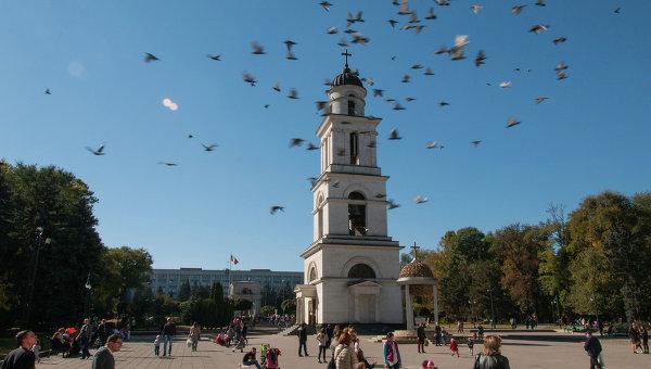 Кишинев. Молдавия. Архивное фото