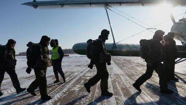 Воздушно-десантные войска. Архивное фото.