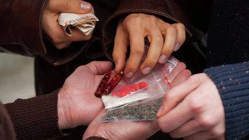 Продажа наркотиков. Архивное фото