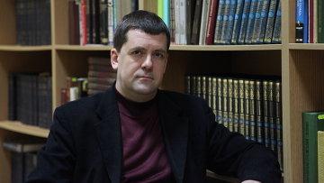 Алексей Дьяконов, кандидат богословия, заведующий библиотекой Нижегородской семинарии. Архивное фото