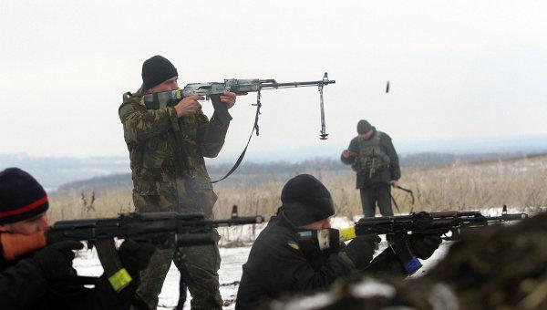 Украинские военные в Донбассе, архивное фото